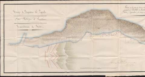 Biblioteca Virtual de Defensa > Plano de la parte del litoral de la ...